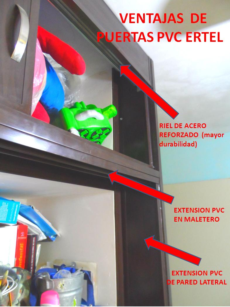 PUERTAS PVC CLOSETS